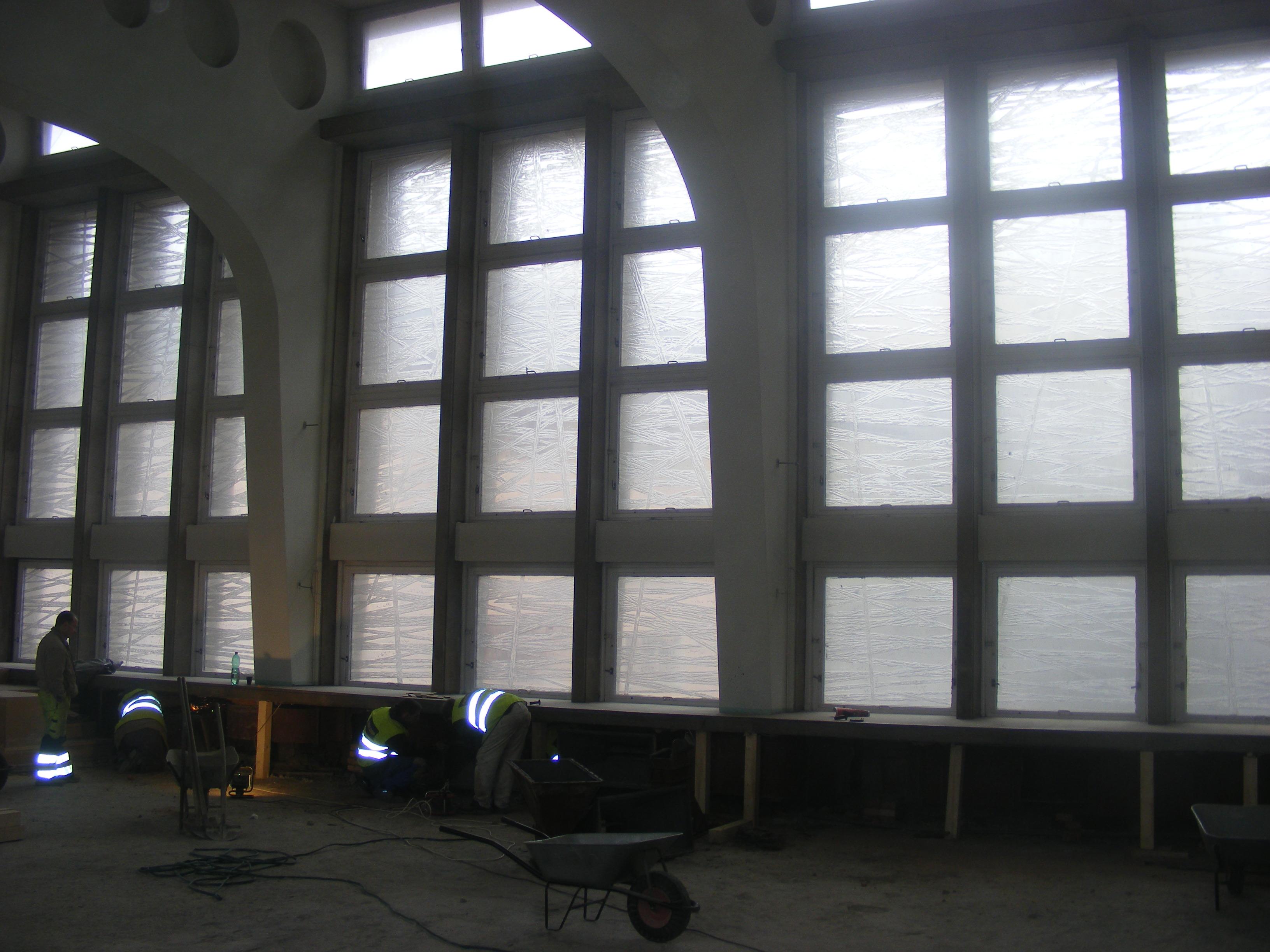 výroba přesných kopií skel do nových oken - Měú Ústí n. Labem